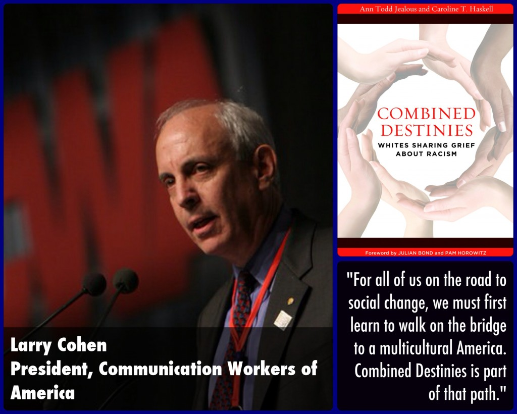 Larry Cohen Combined Destinies Endorsement