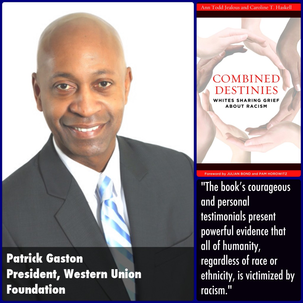 Patrick Gaston Combined Destinies Endorsement